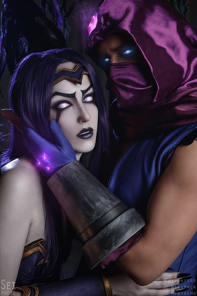 Russian Cosplay: Malzahar & Morgana (League of Legends)