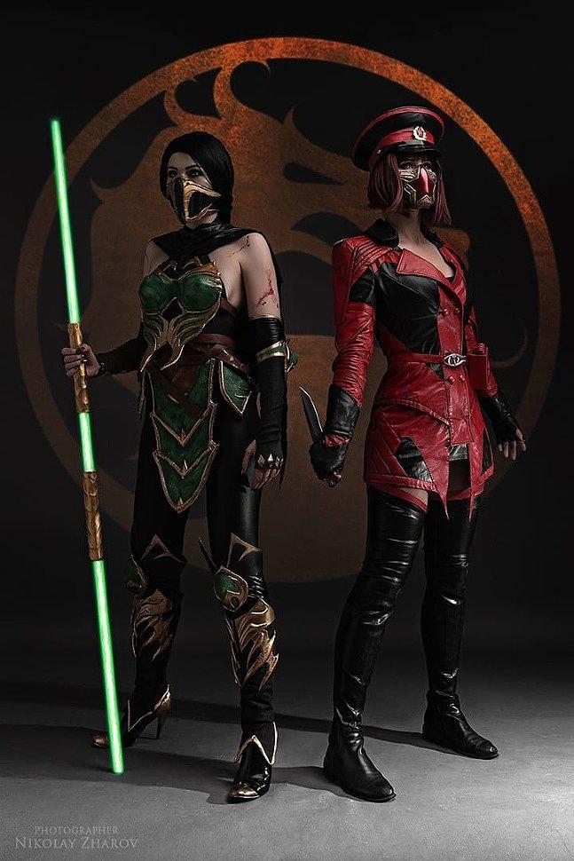 Russian Cosplay Jade Skarlet Mortal Kombat 11 G4sky Net