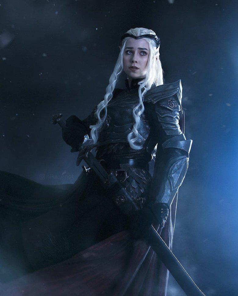 Russian Cosplay: Daenerys Targaryen (Game of Thrones)
