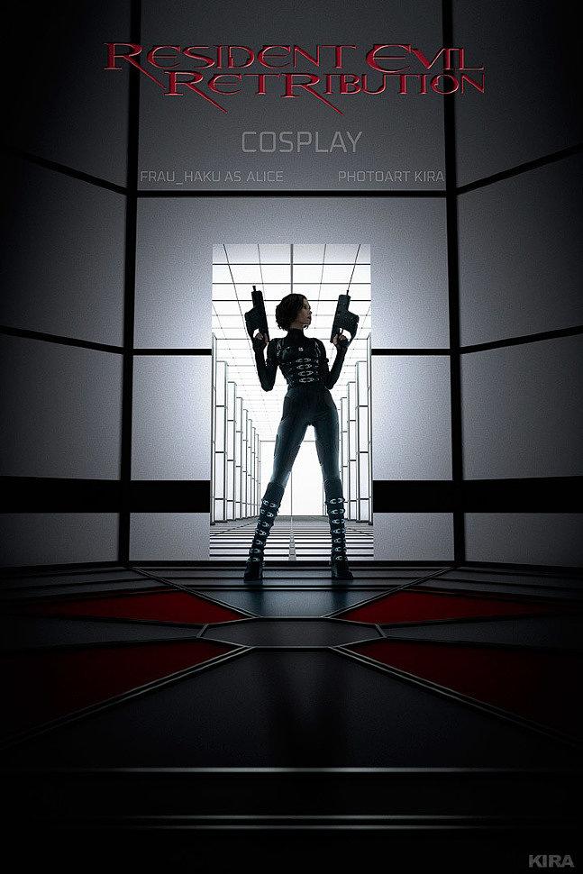 Russian Cosplay: Alice (Resident Evil: Retribution) by Frau Haku