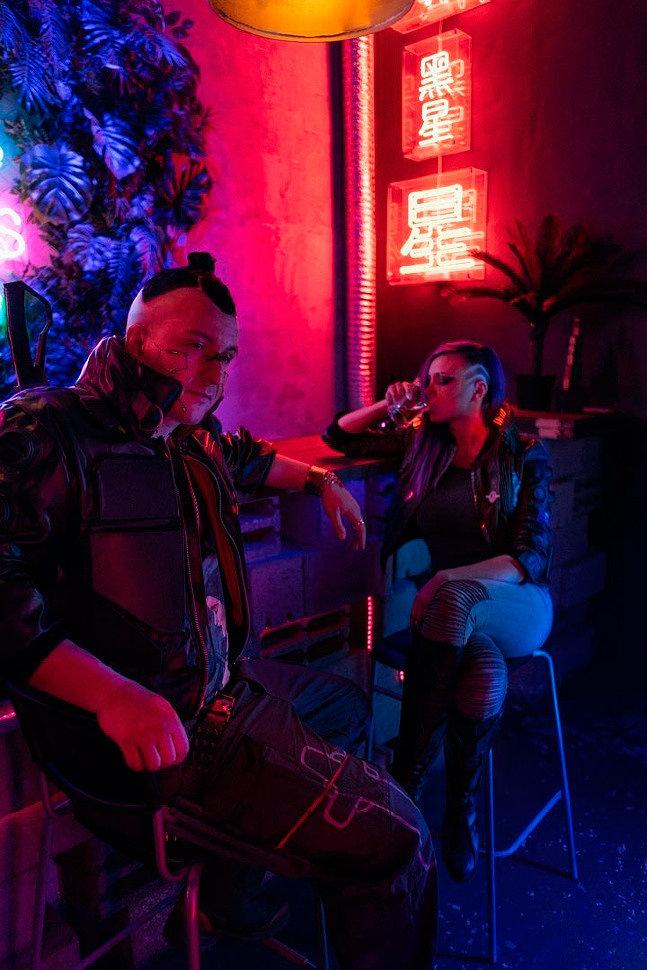 Russian Cosplay: V (Cyberpunk 2077)