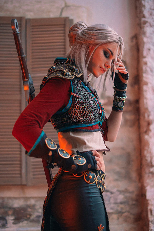 Russian Cosplay: Ciri (The Witcher 3) by shirogane_sama