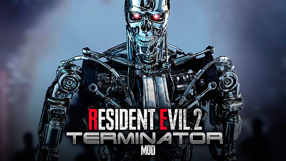 [Fun Video] RESIDENT EVIL 2 REMAKE MOD (TERMINATOR MR X & T-800 ENDOSKELETON)