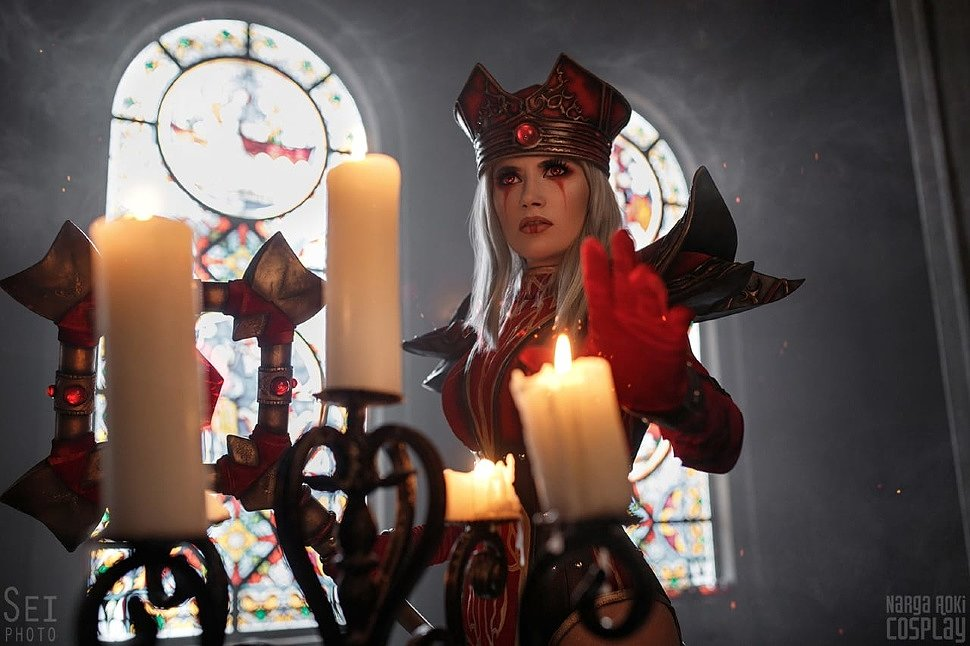 Russian Cosplay: High Inquisitor Whitemane (World of ...
