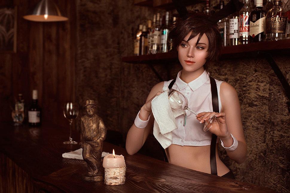 Russian Cosplay: D.Va, Tracer (Overwatch)