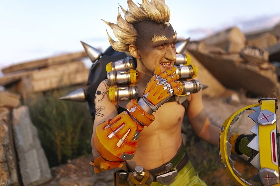 Russian Cosplay: Junkrat (Overwatch) by Vetran