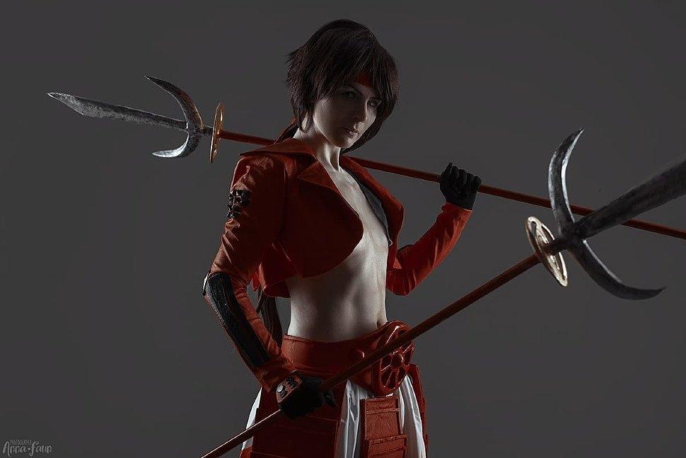 Russian Cosplay: Sanada Yukimura (Sengoku Basara)