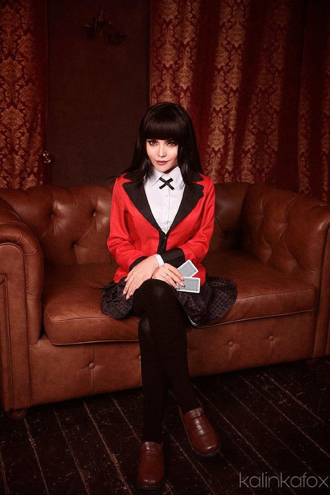 Russian Cosplay: Yumeko Jabami (Kakegurui)