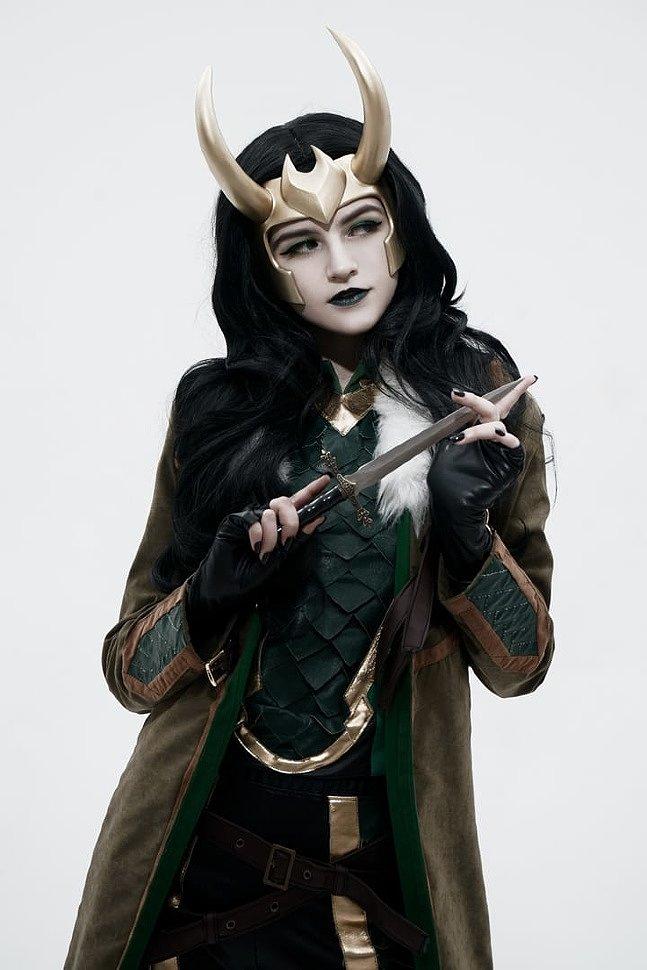 Russian Cosplay: Loki (The Avengers)