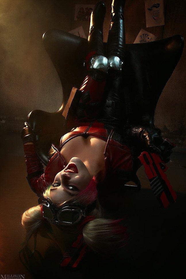 Russian Cosplay: Harley Quinn (Injustice 2) by Marika Greek