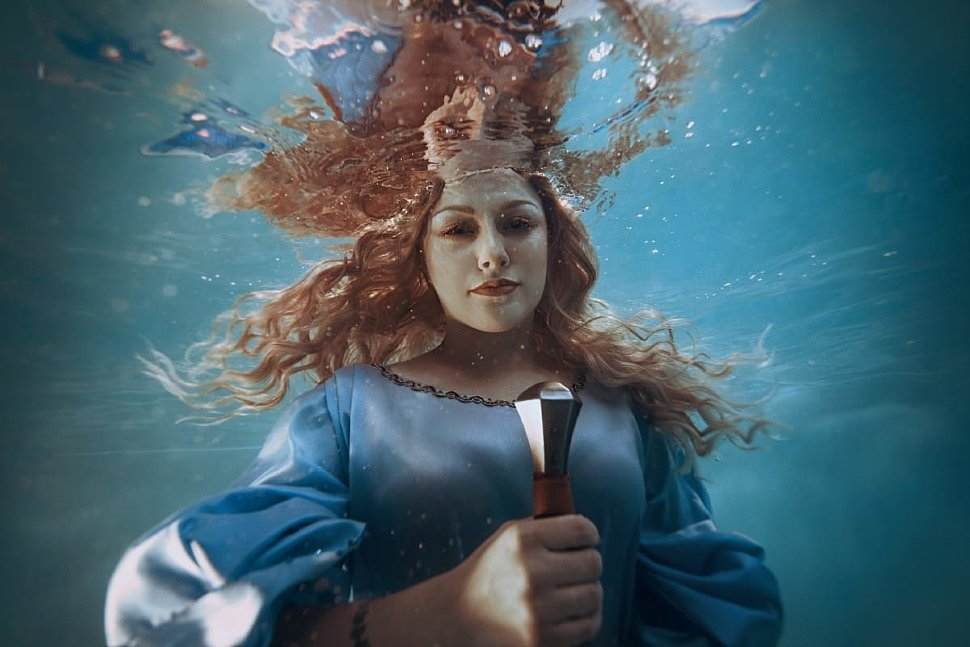 Russian Cosplay: Lady of the Lake (The Witcher)