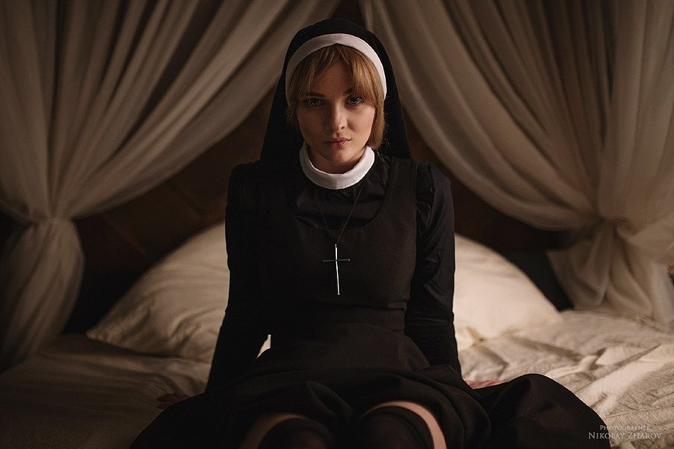 Russian Cosplay: Sister Mary Eunice (American Horror Story) by katssby