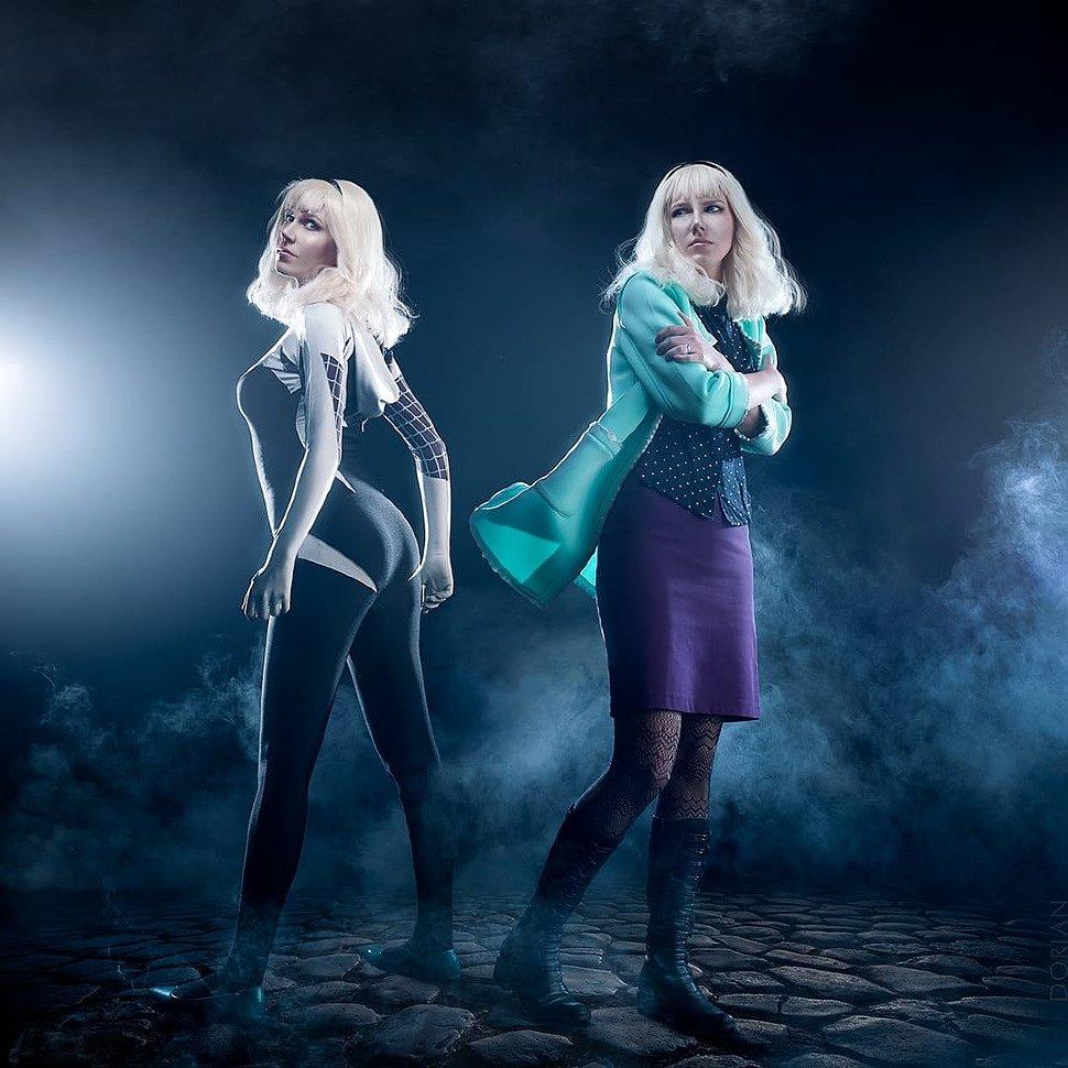 Russian Cosplay: Gwen Stacy (Spider-Gwen)