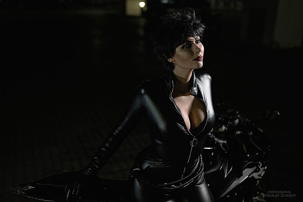 Russian Cosplay: Catwoman (DC Comics) by Blue Wolf