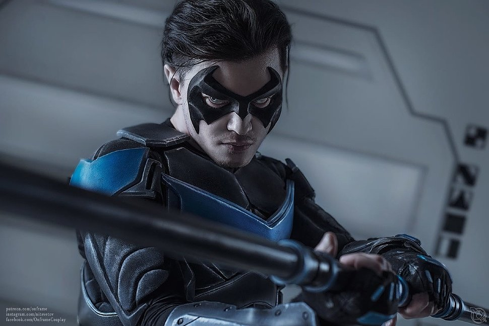 Russian Cosplay: Nightwing (DC Comics)