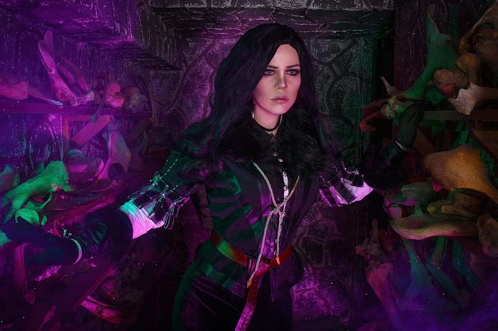 Russian Cosplay: Yennefer (The Witcher) by ALICE