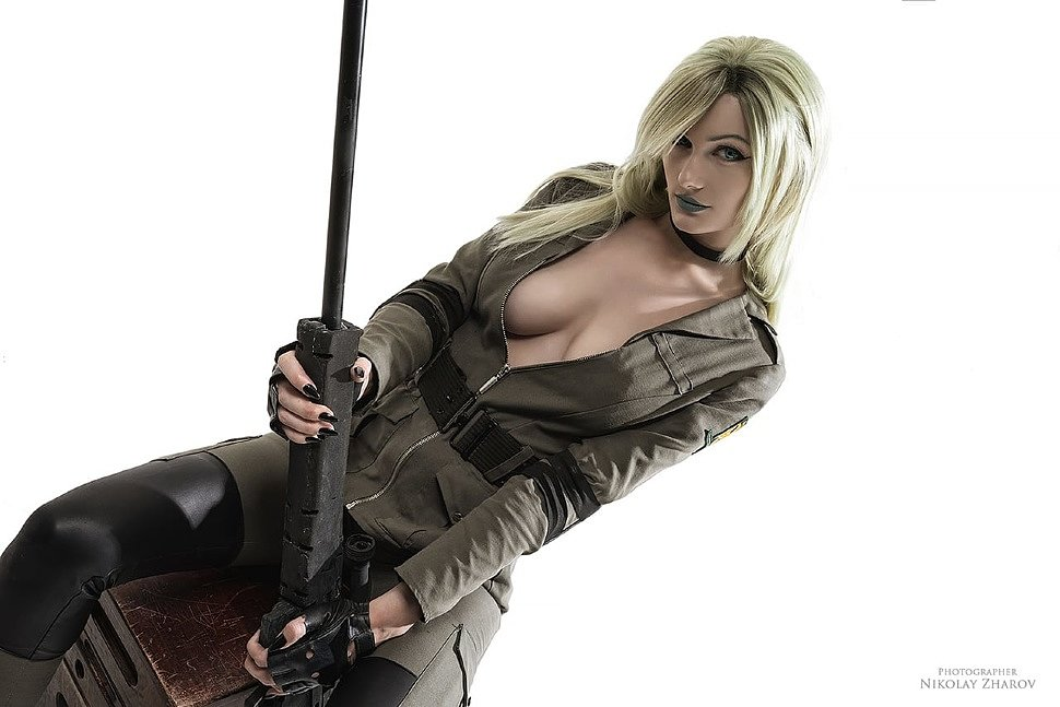 Russian Cosplay: Sniper Wolf (Metal Gear Solid) by Vlada Lucak