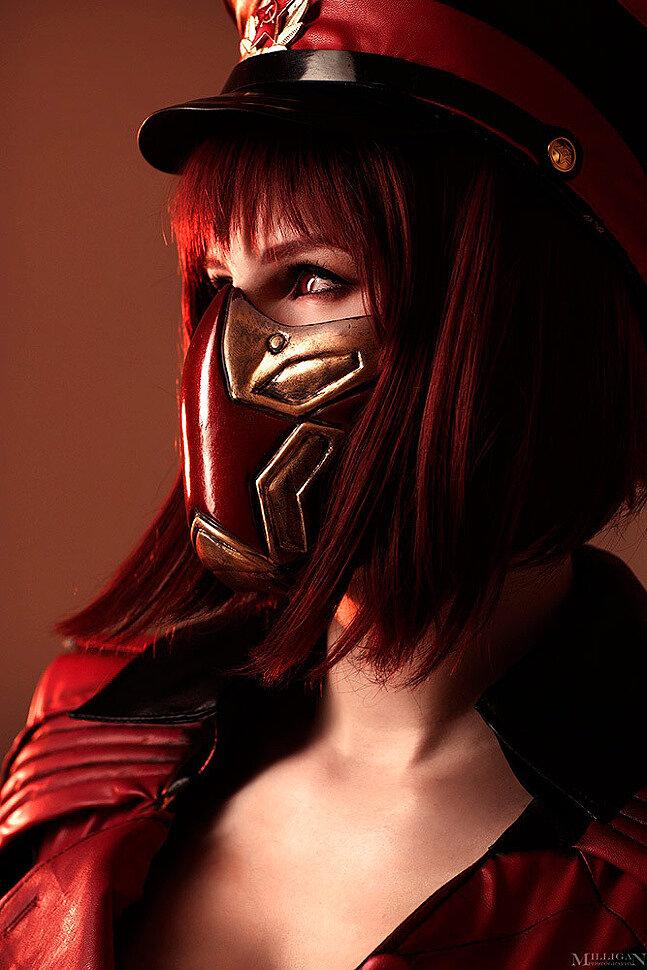 Russian Cosplay: Skarlet (Mortal Kombat 11) by Lei Radna