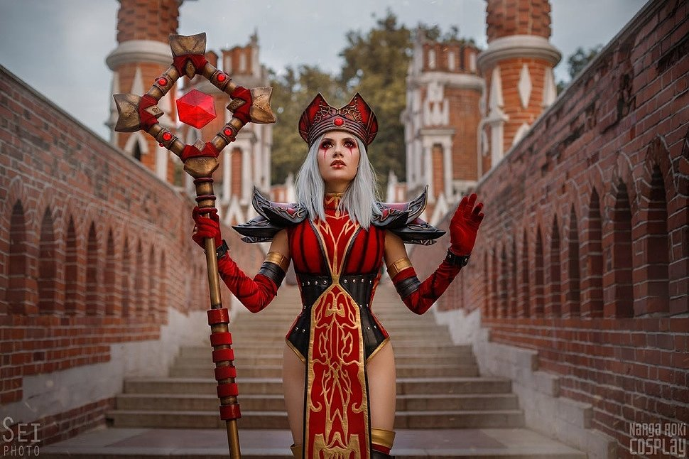 Russian Cosplay: High Inquisitor Whitemane (World of Warcraft)