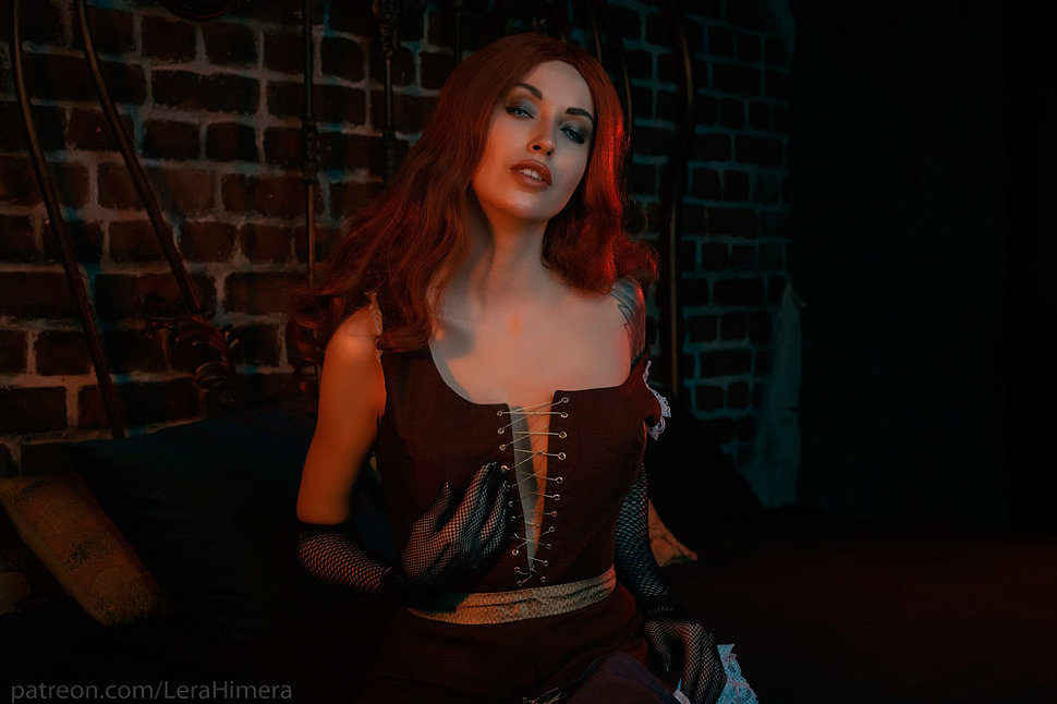 Russian Cosplay: Queen of the Night (The Witcher) by Himera (18+)
