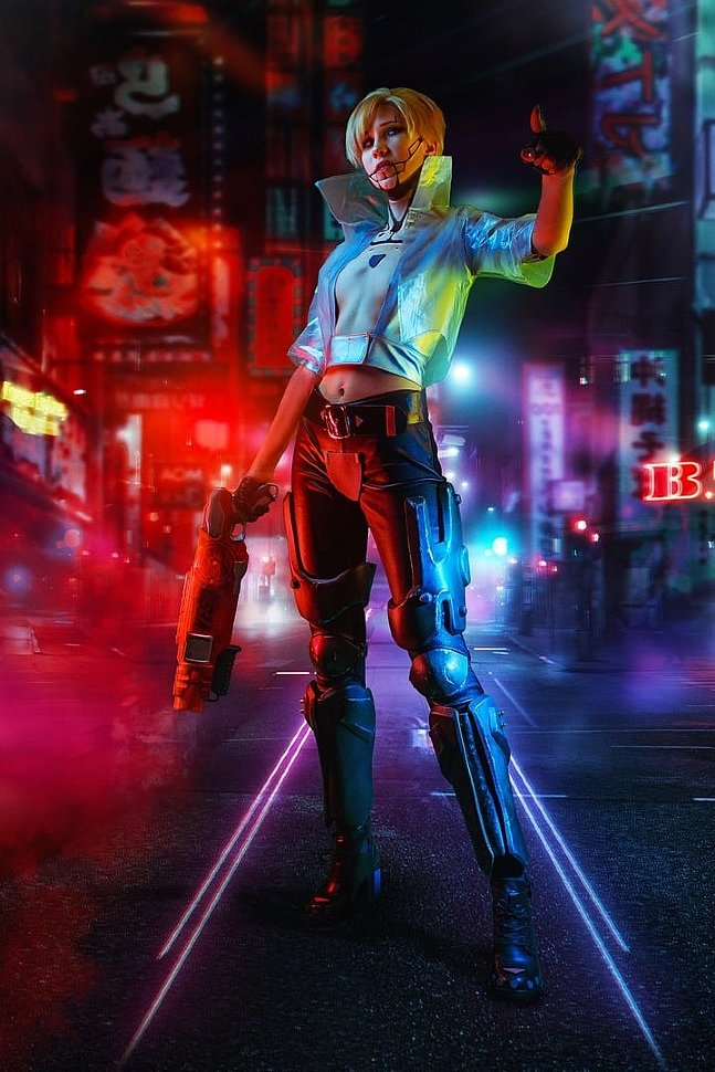 Russian Cosplay: The Witcher / Cyberpunk 2077 (Mash-up)