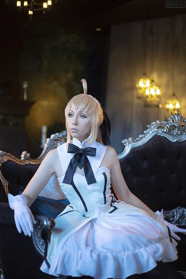 Russian Cosplay: Rin & Saber (Fate/stay night)