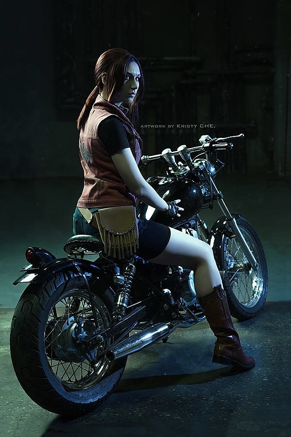 Russian Cosplay: Claire Redfield (Resident Evil)