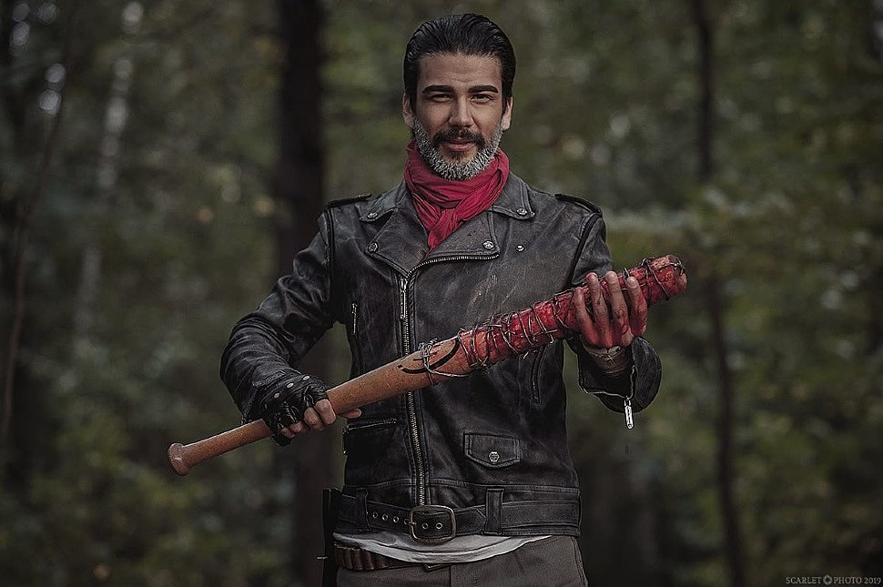 Russian Cosplay: Negan (The Walking Dead) by Alvey Alvarez