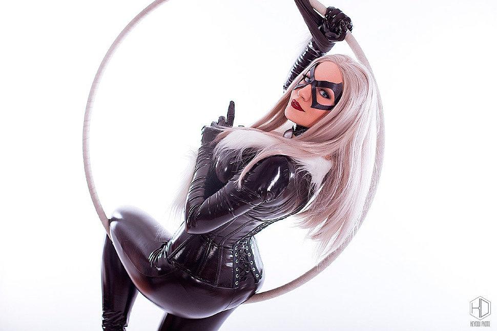 Russian Cosplay: Black Cat (Marvel Comics)