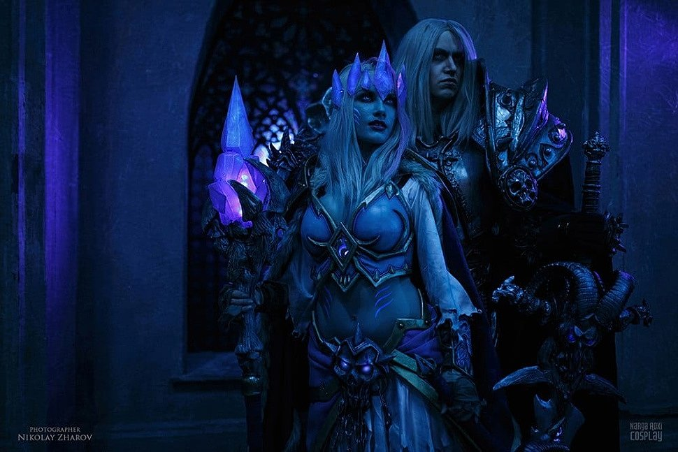 Russian Cosplay: Jaina Proudmore & Arthas (World of Warcraft) by Narga & Aoki