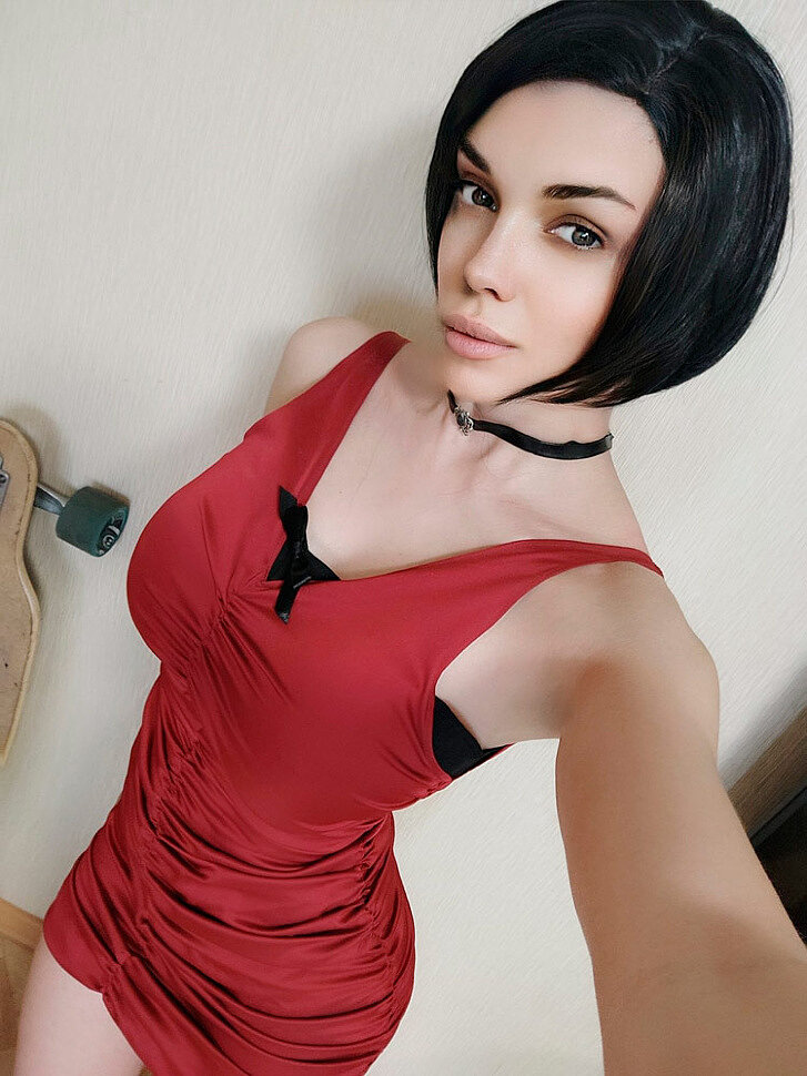 Russian Cosplay: Ada Wong (Resident Evil 2) by Octokuro