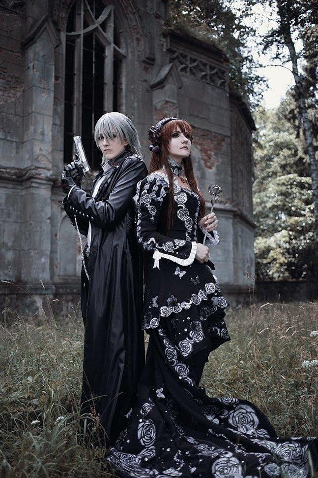 Russian Cosplay: Yuuki Cross & Zero Kiryu (Vampire Knight)