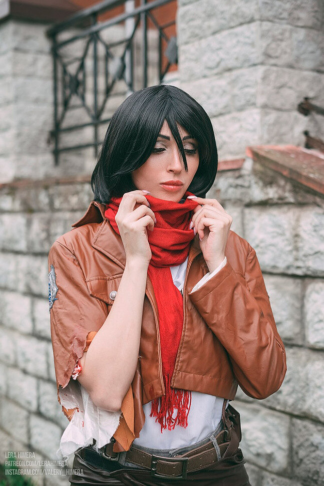 [Cosplay] Mikasa (Attack on Titan) by Himera (NSFW)