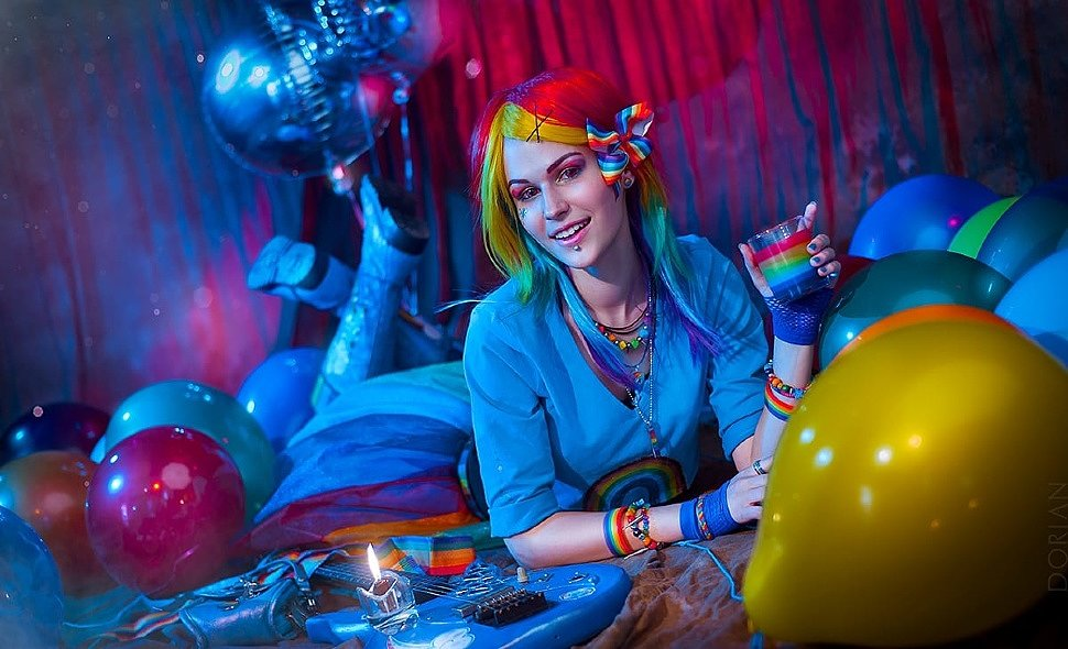 Russian Cosplay: Rainbow Dash (My Little Pony)