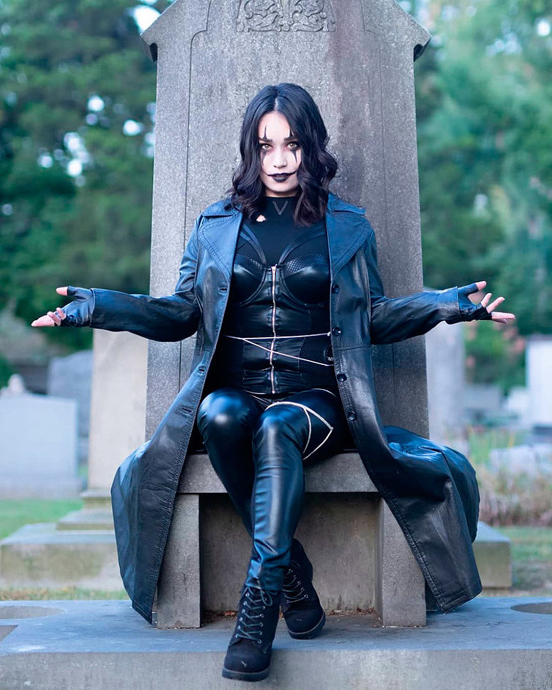 Cosplay: Eric Draven (The Crow) by Babs Butcher