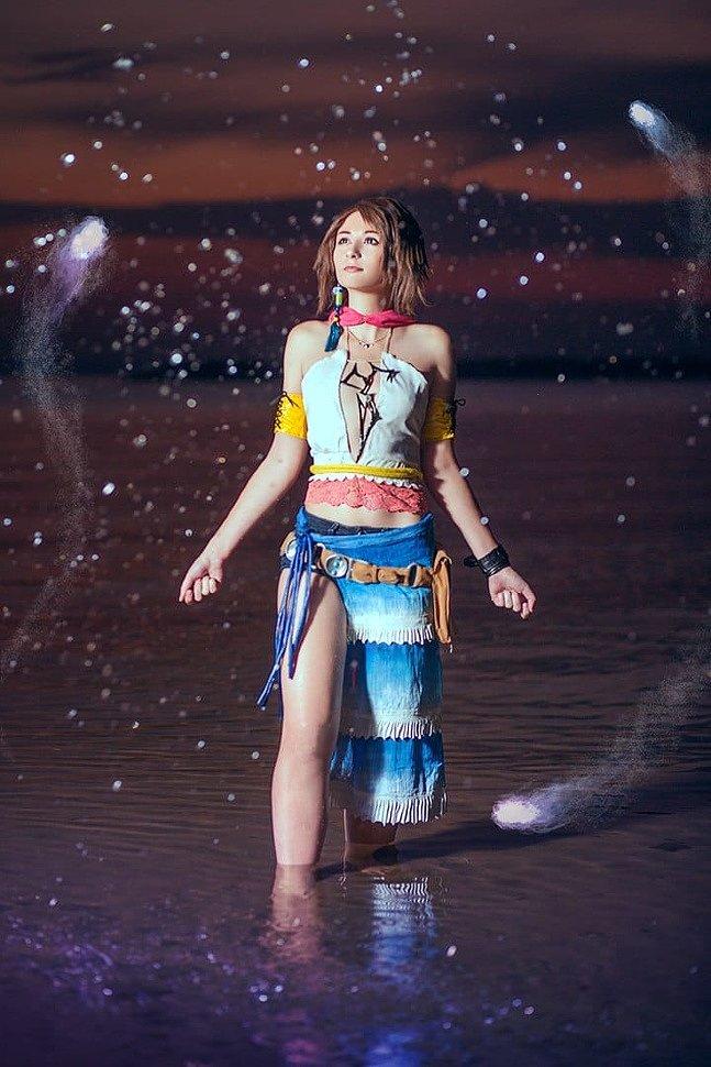 Russian Cosplay: Yuna, Rikku & Paine (Final Fantasy X-2)