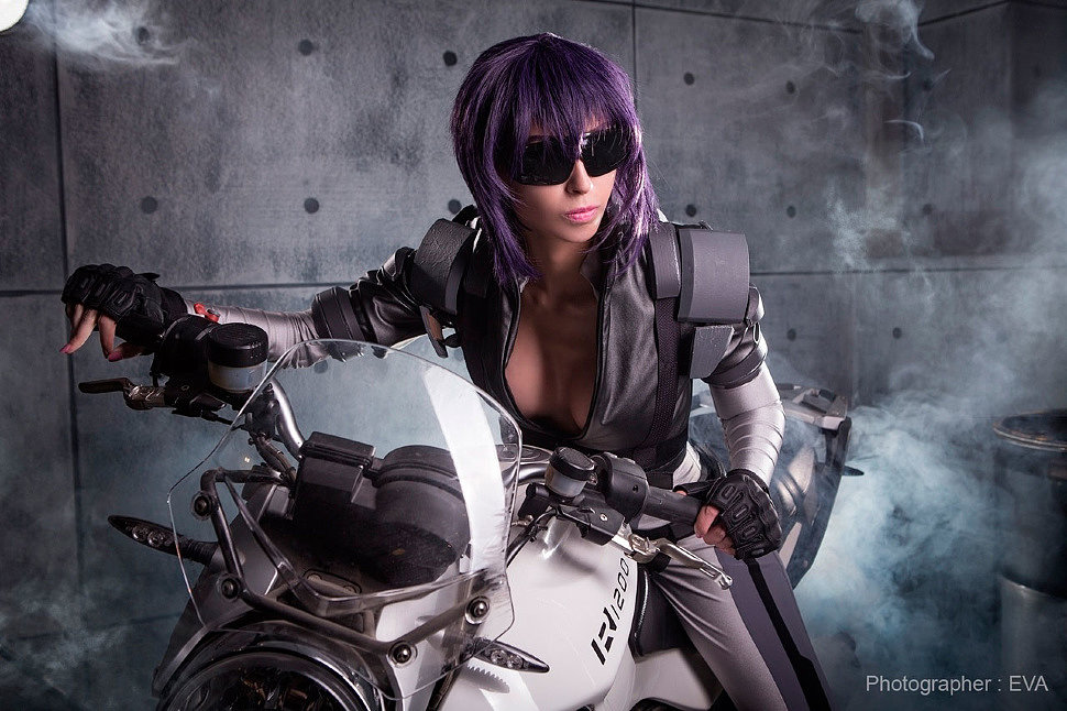 Russian Cosplay: Motoko Kusanagi (Ghost in the Shell)