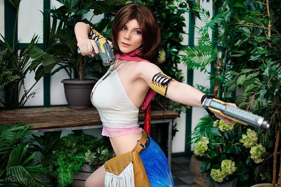 Russian Cosplay: Yuna (Final Fantasy X-2)