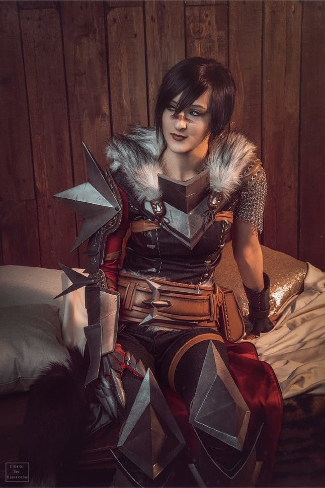 Russian Cosplay: Hawke and Anders (Dragon Age II) 18+
