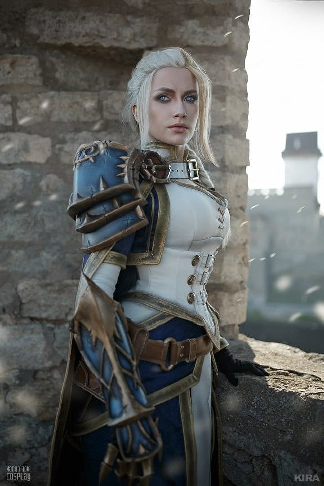 Russian Cosplay: Jaina (World of Warcraft: Battle for Azeroth)