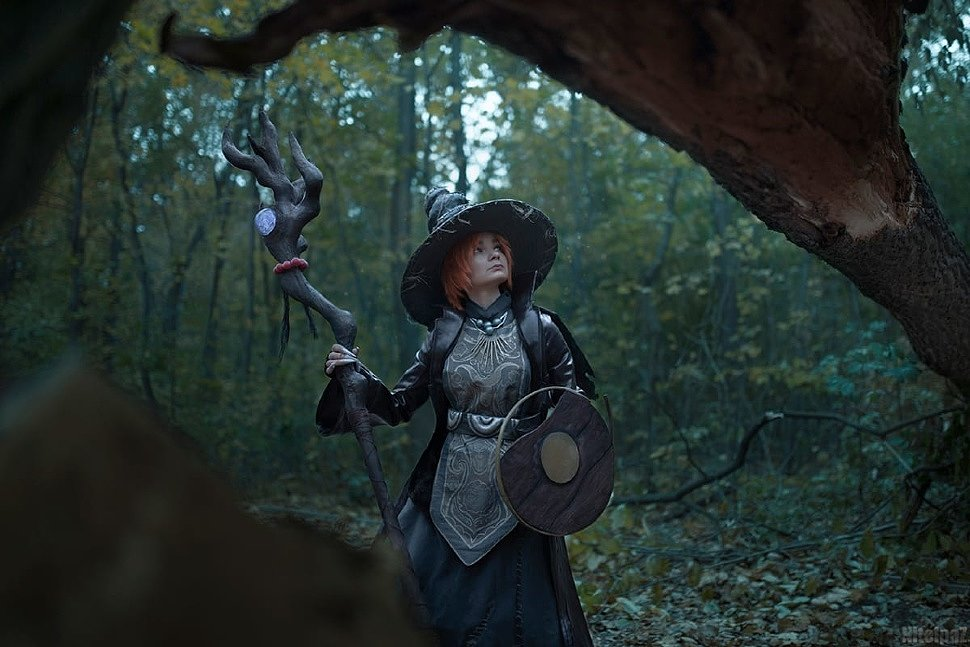 Russian Cosplay: Witch Beatrice (Dark Souls)