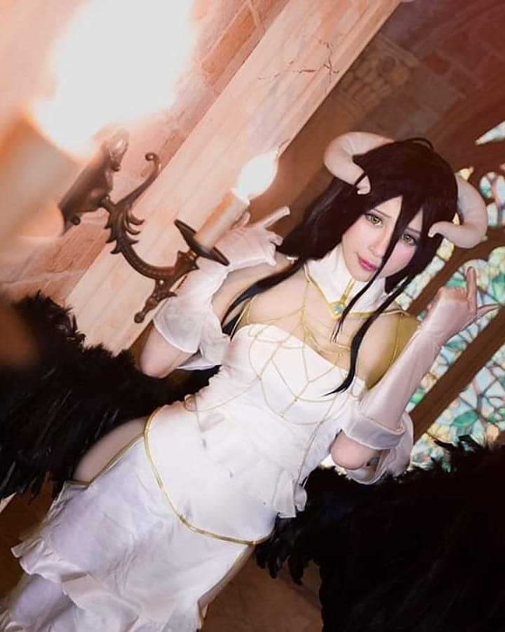 Cosplay: Albedo (Overlord) by smilecutty (18+)