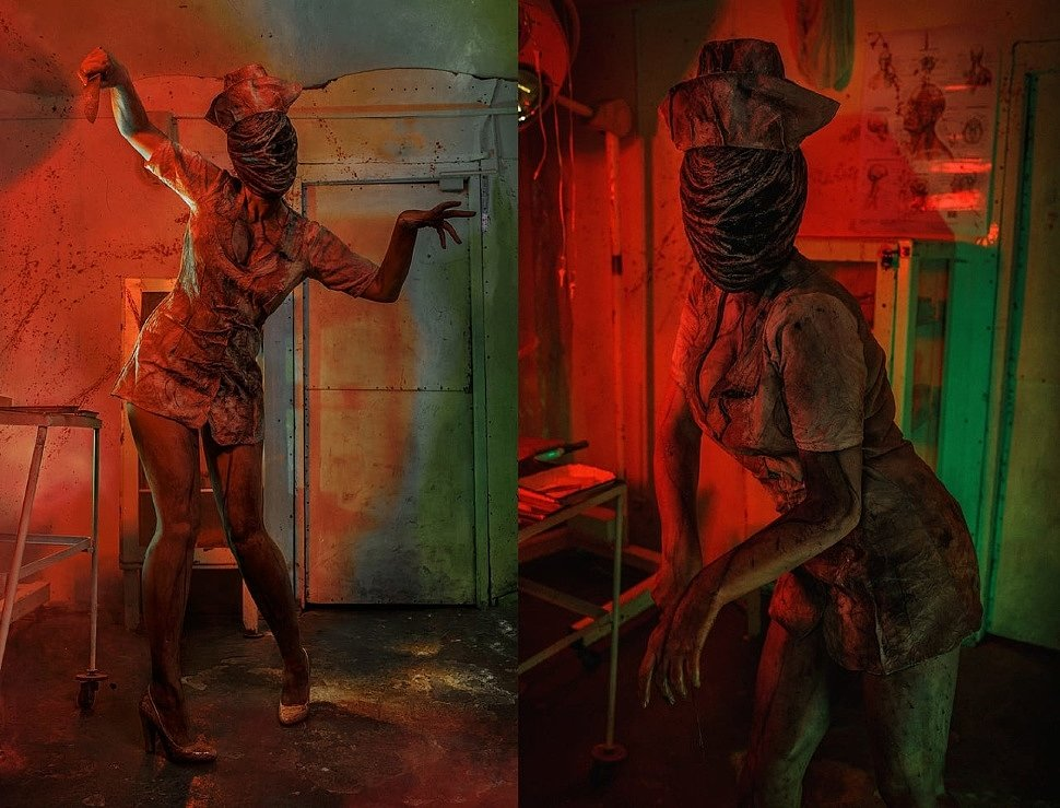 Russian Cosplay: Nurse (Silent Hill) by Alice Cosplay