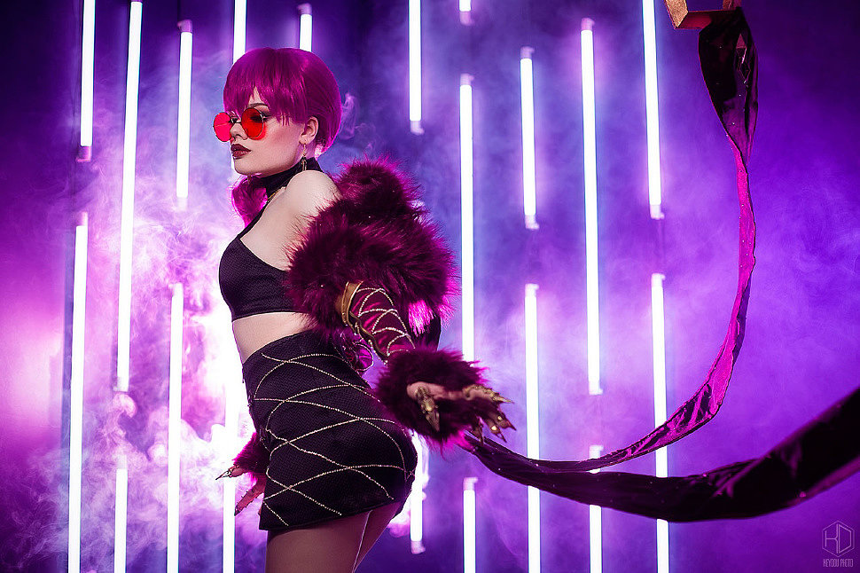 Russian Cosplay: KDA Evelynn (League of Legends)