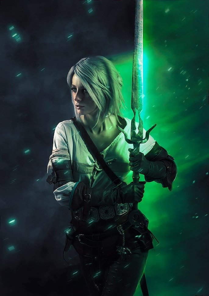 Russian Cosplay: Ciri (The Witcher 3) by Fishy
