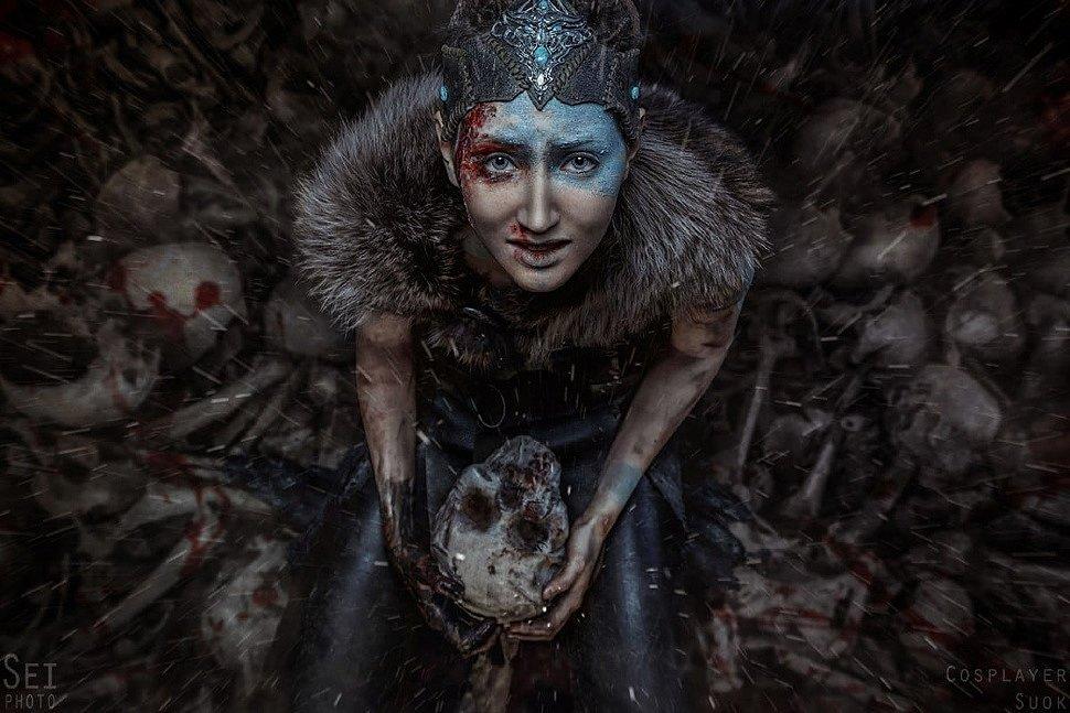 Russian Cosplay: Senua (Hellblade: Senua's Sacrifice) by Suok