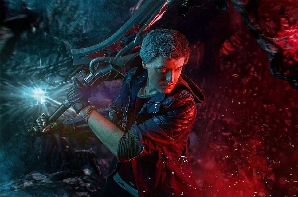 Russian Cosplay: Nero (Devil May Cry 5)