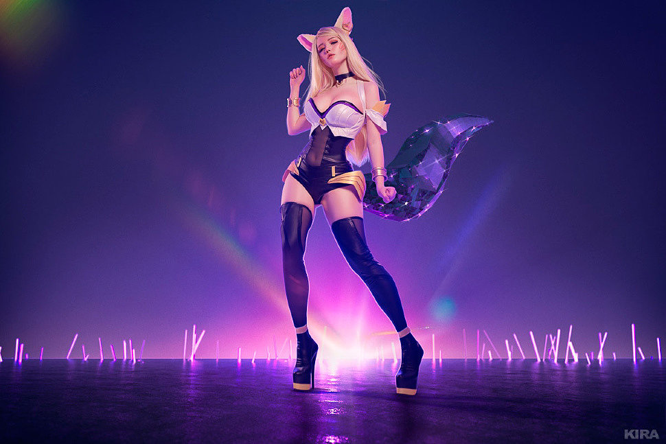 Russian Cosplay: K/DA Ahri (League of Legends)