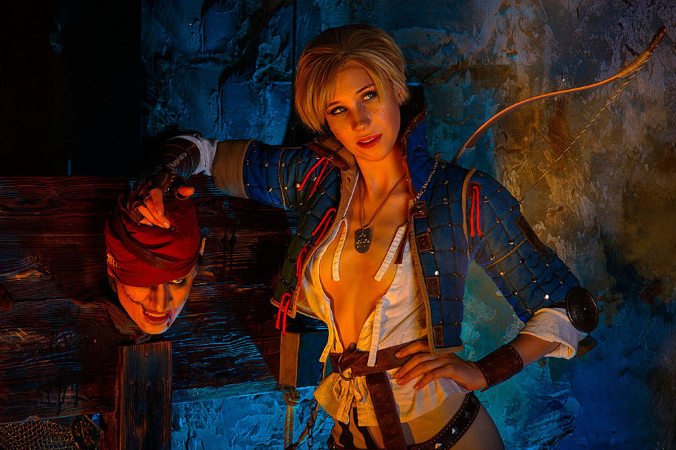 Russian Cosplay: The Witcher 3: Wild Hunt