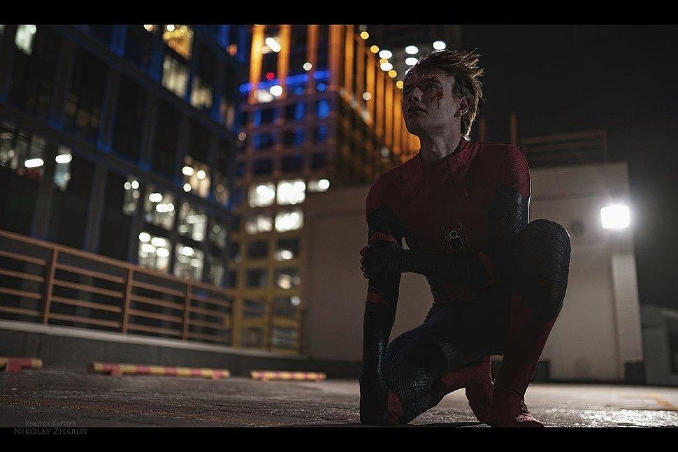 Russian Cosplay: Spider-man & Venom (Marvel) by Shemetov & Hitman